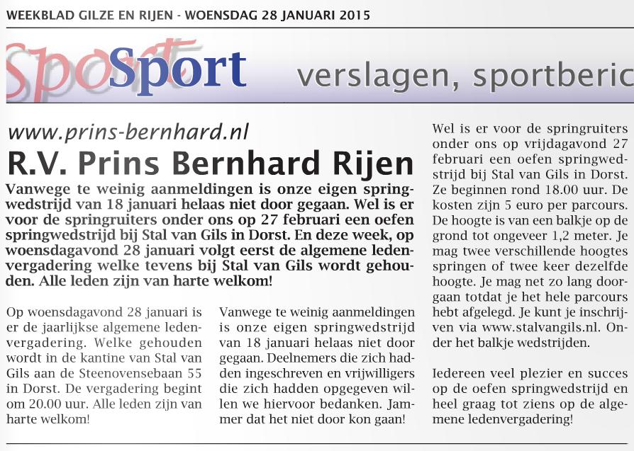 PrinsBernhardWeek5